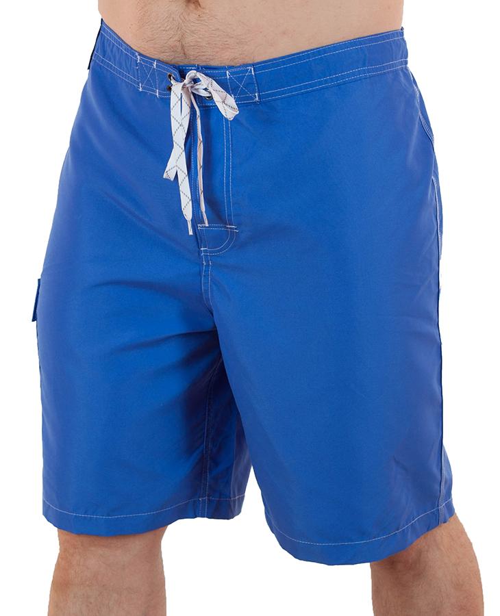 Купить пляжные шорты голубые мужские от Merona™