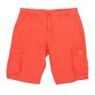 Ярко-оранжевые мужские шорты хлопок от BLEND.