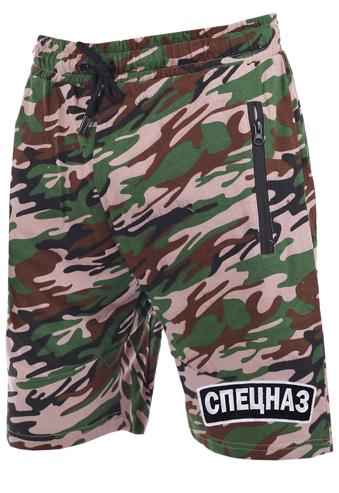 Военная одежда нового поколения – шорты камуфляж СПЕЦНАЗ.
