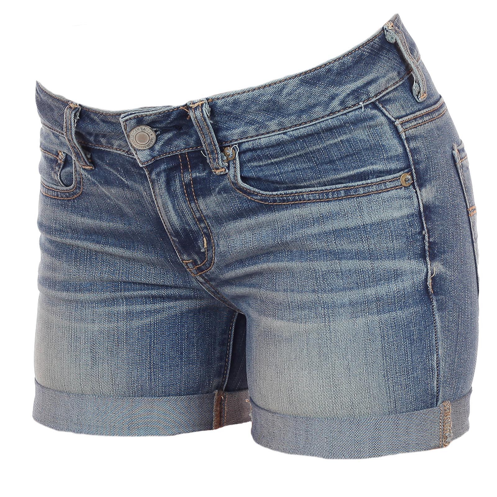 Джинсовые шорты American Eagle комфортной длины: и попой повилять, и на парней повлиять, и себя показать! ЖИВИ МОМЕНТОМ!