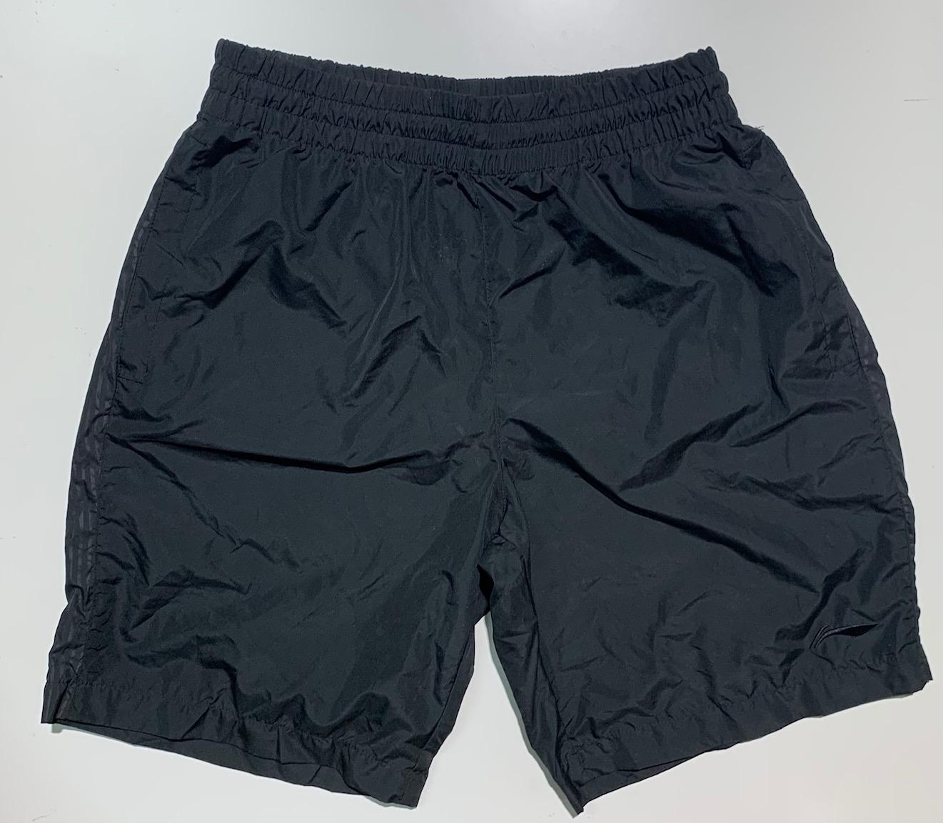 Шорты летние мужские от бренда Li-ning черные