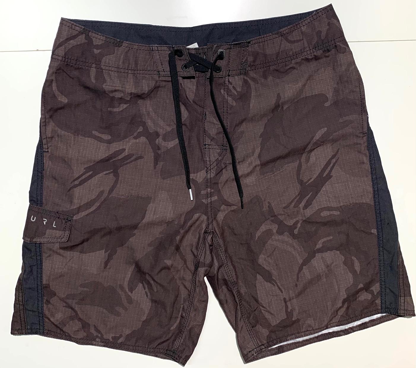 Шорты летние мужские от бренда RIP CURL коричневые
