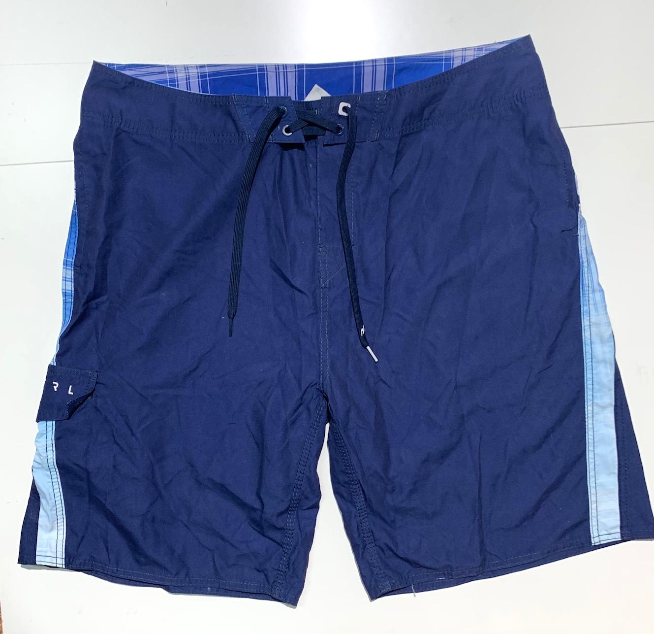 Шорты летние мужские от бренда RIP CURL темно-синие
