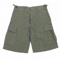 Котоновые мужские шорты MIL-TEC хаки-олива.
