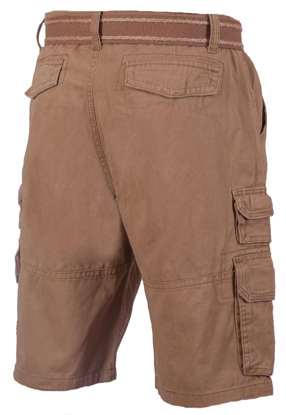 Купить шорты мужские коричневые