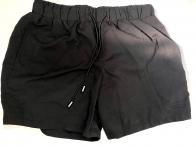 Шорты мужские короткие черного цвета