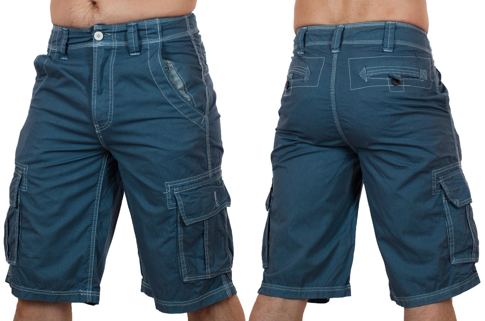 Заказать эксклюзивные мужские шорты карго от Denim House