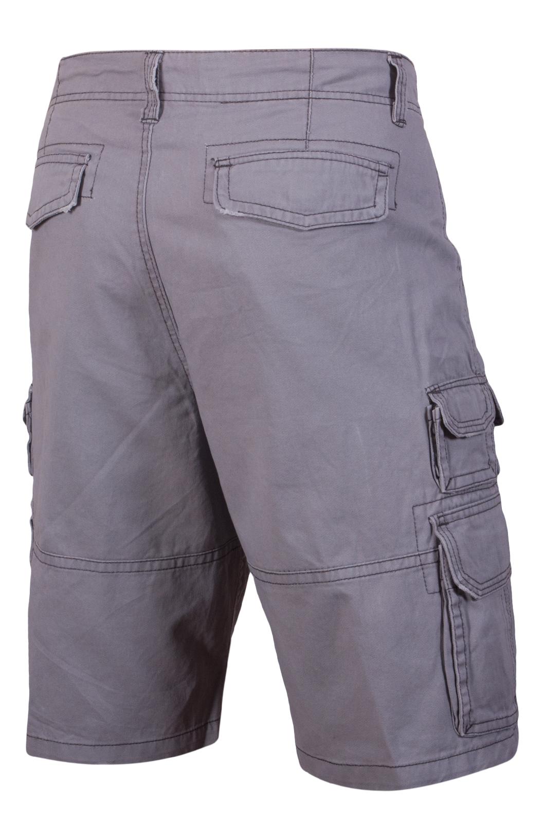 Шорты мужские серые - купить онлайн