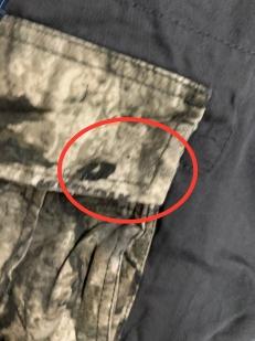 Шорты мужские WEAR FIRST с милитари отделкой