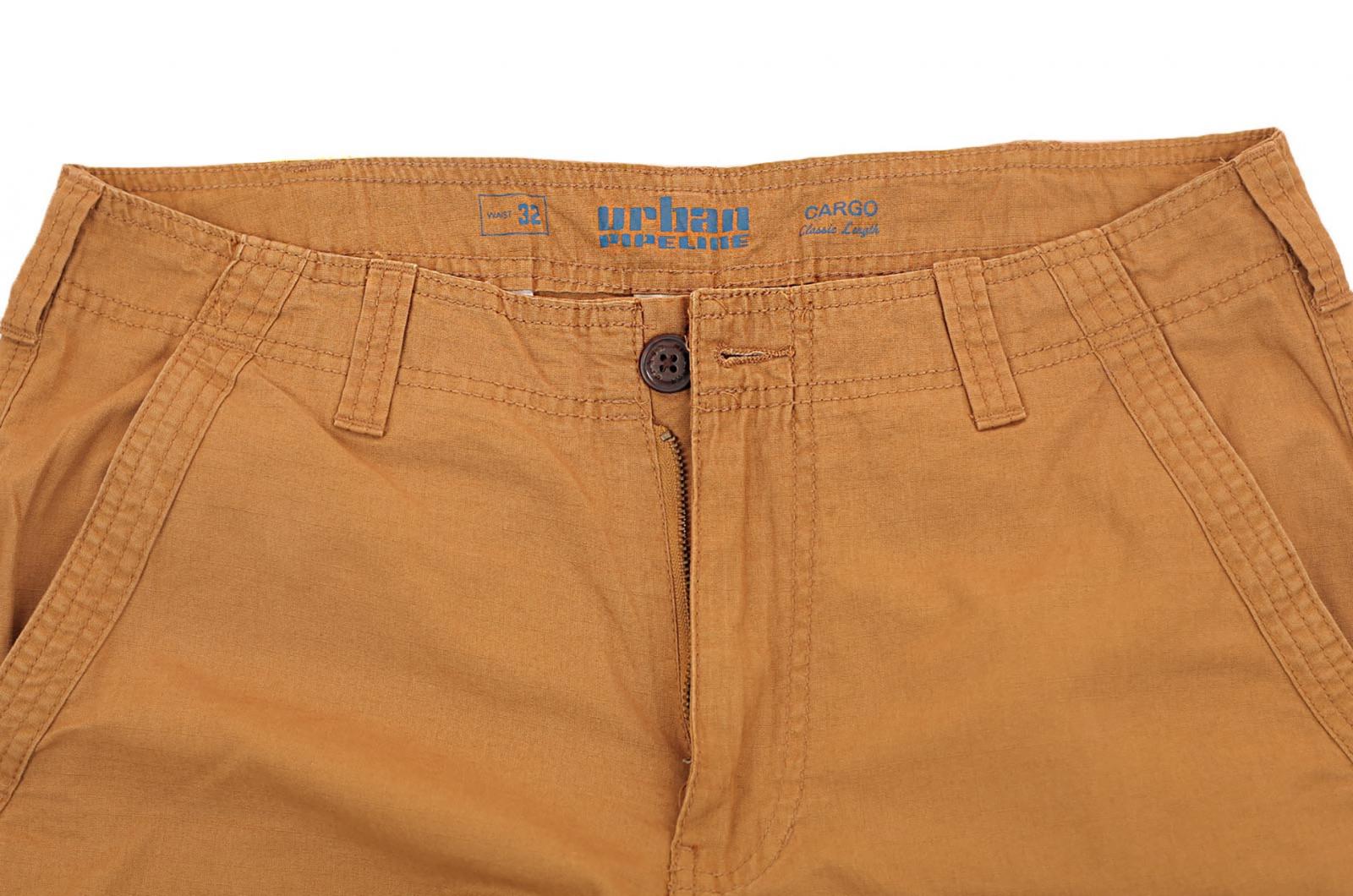 Брендовые мужские шорты хаки-песок от Urban с доставкой