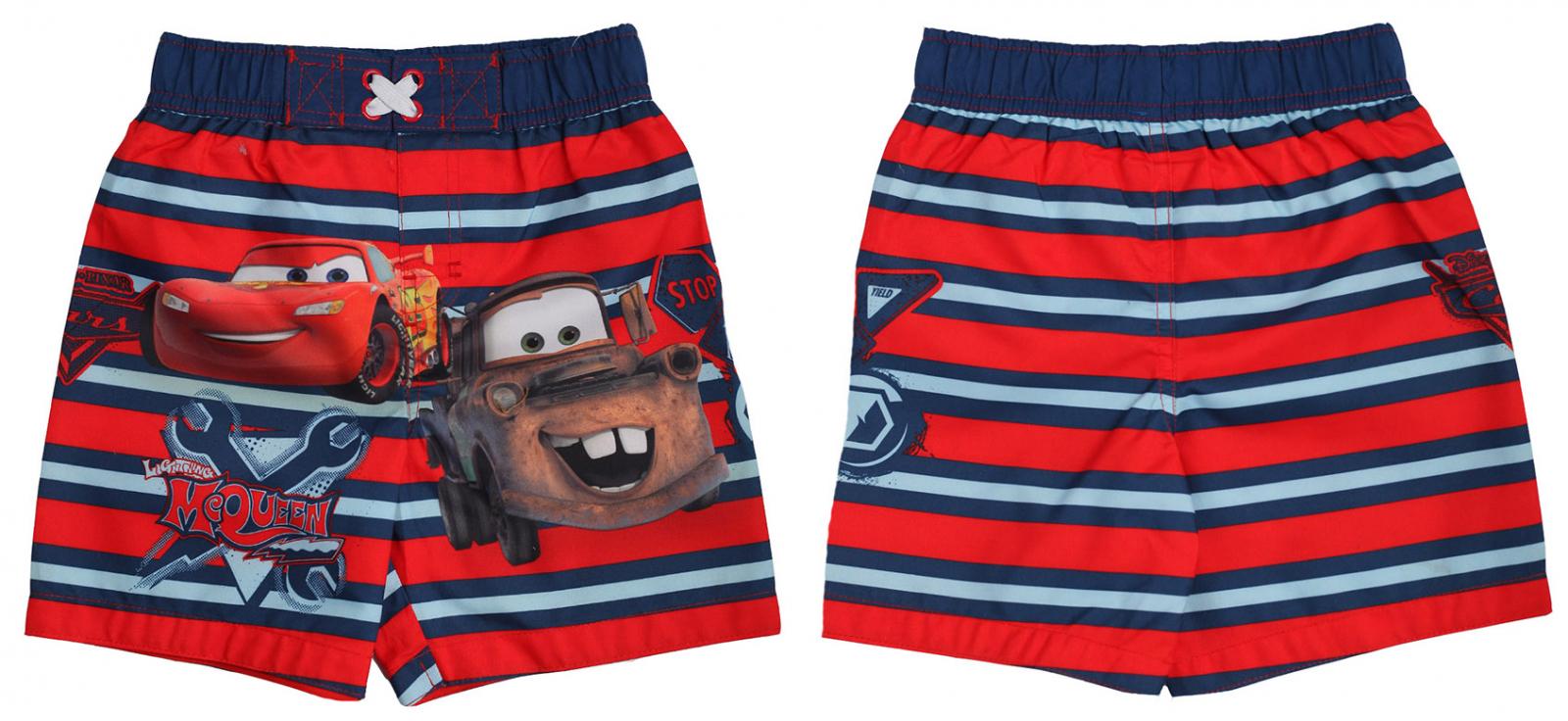 """Заказать шорты пляжные для мальчика """"Молния Маккуин"""""""