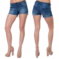 Джинсовые шорты с бахромой от SEMIR Jeans.