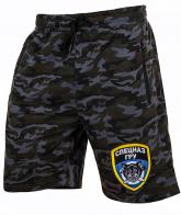 Дышащие спецназовские шорты с эмблемой ГРУ