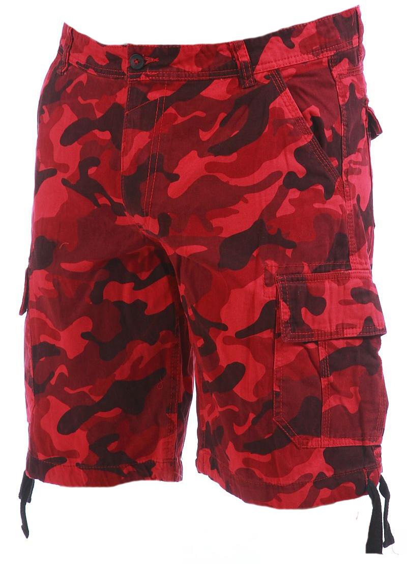 Мужские шорты с глубокими накладными карманами.