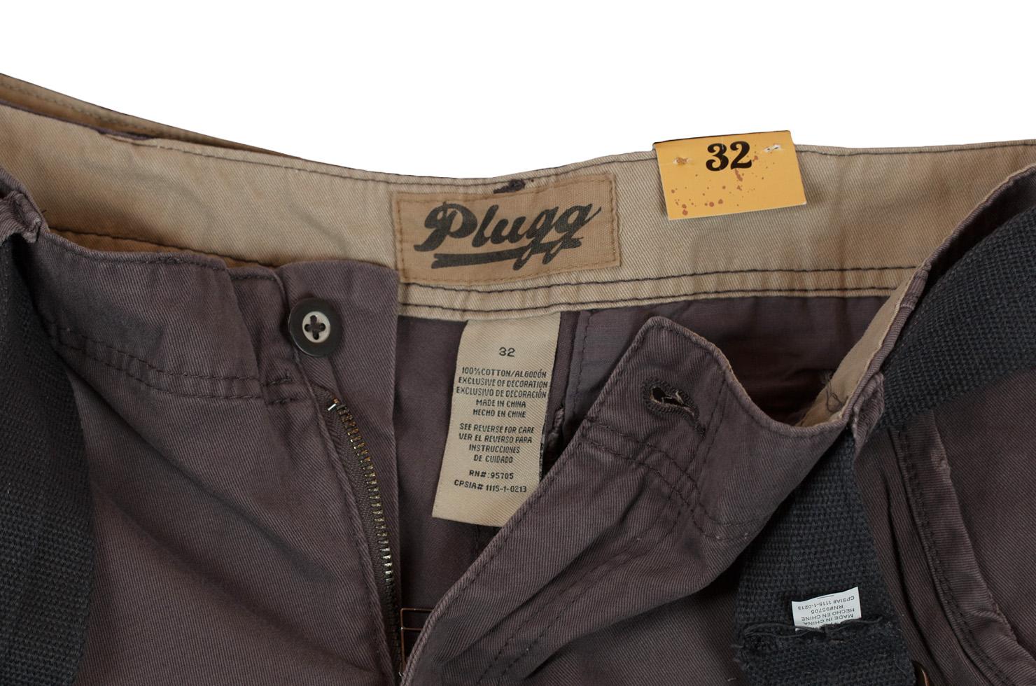 Шорты с ремнем мужские (Plugg, США) с доставкой