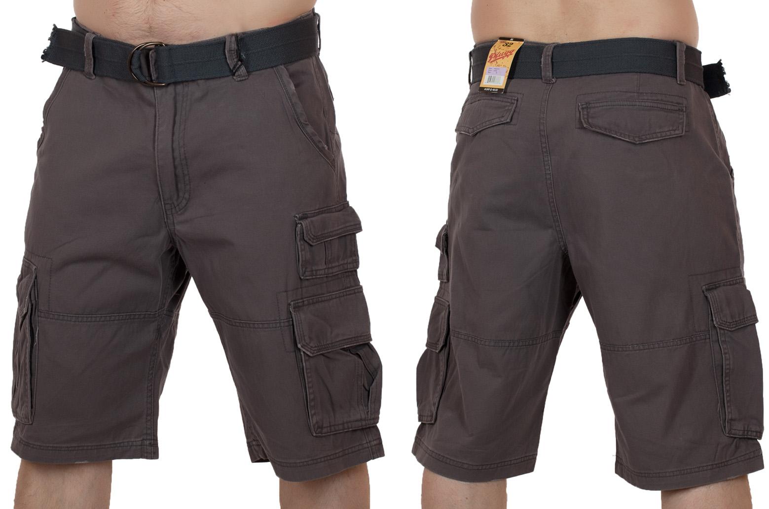 Заказать шорты с ремнем мужские (Plugg, США)
