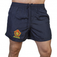 Мужские шорты с шевроном Погранвойск