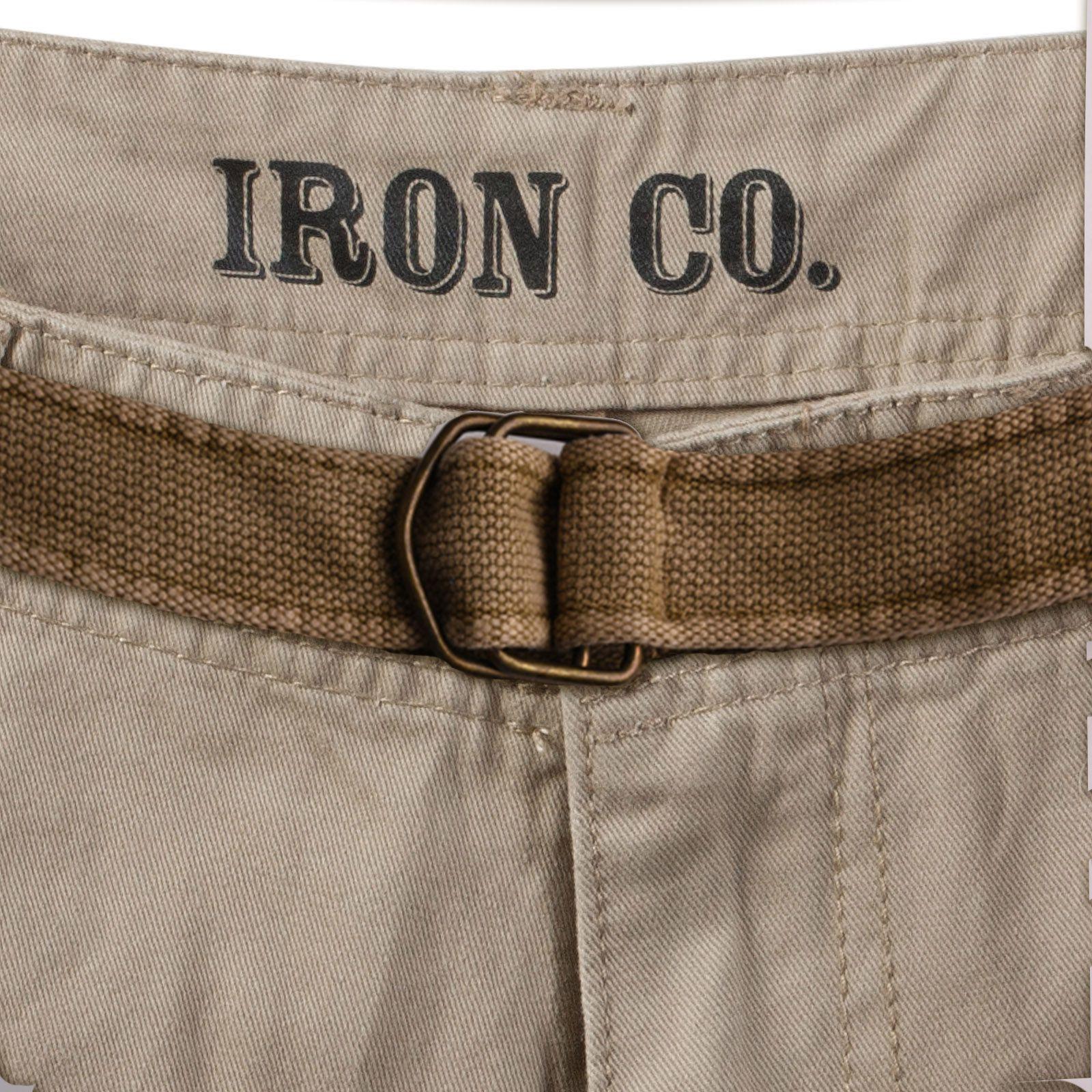 Заказать шорты с текстильным ремнем