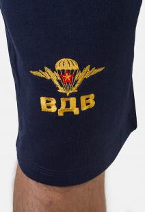 Статусные шорты с золотой вышивкой ВДВ