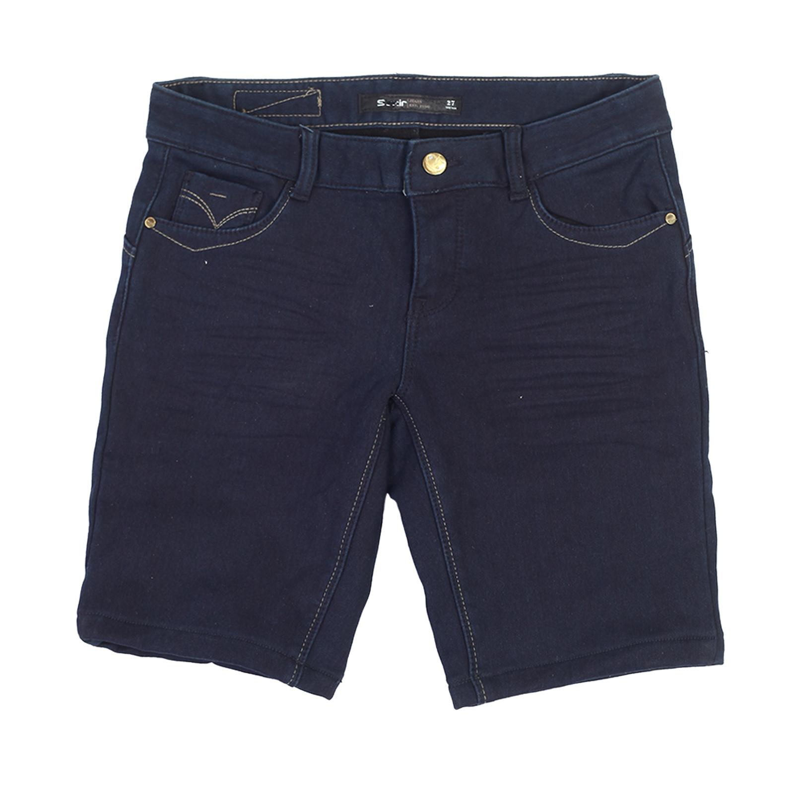 Женские джинсовые шорты Semir на флисе.