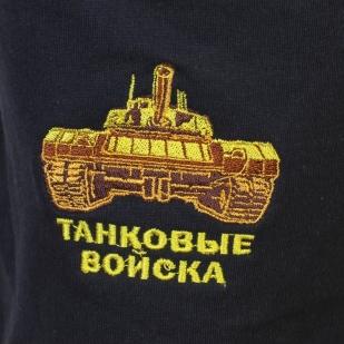 Армейские мужские шорты с шевроном Танковых войск