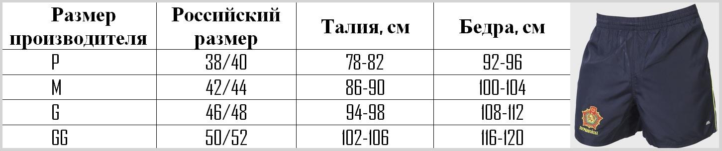 Мужские шорты-боксёры ПОГРАНВОЙСКА