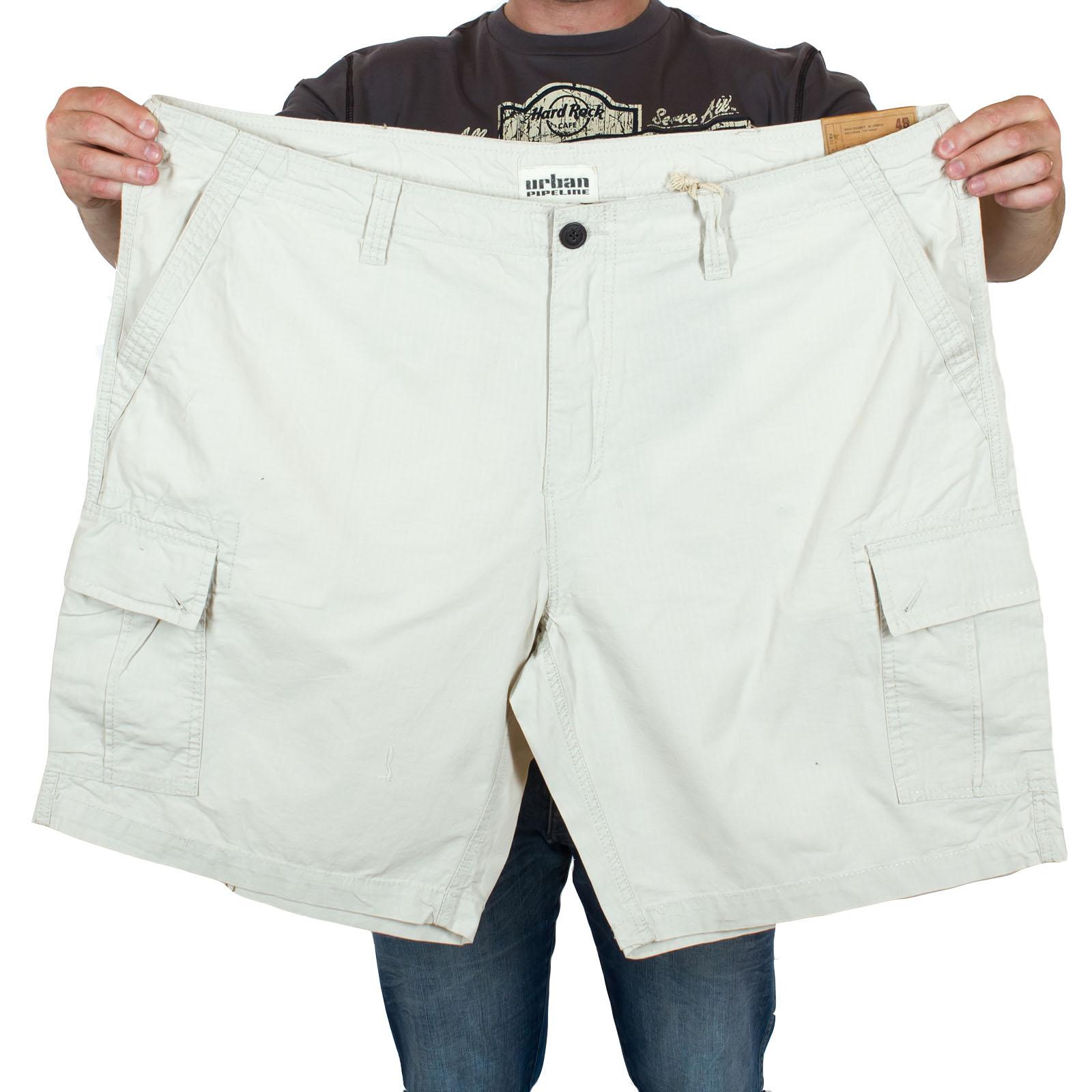 Белые мужские шорты Urban Pipeline большого размера