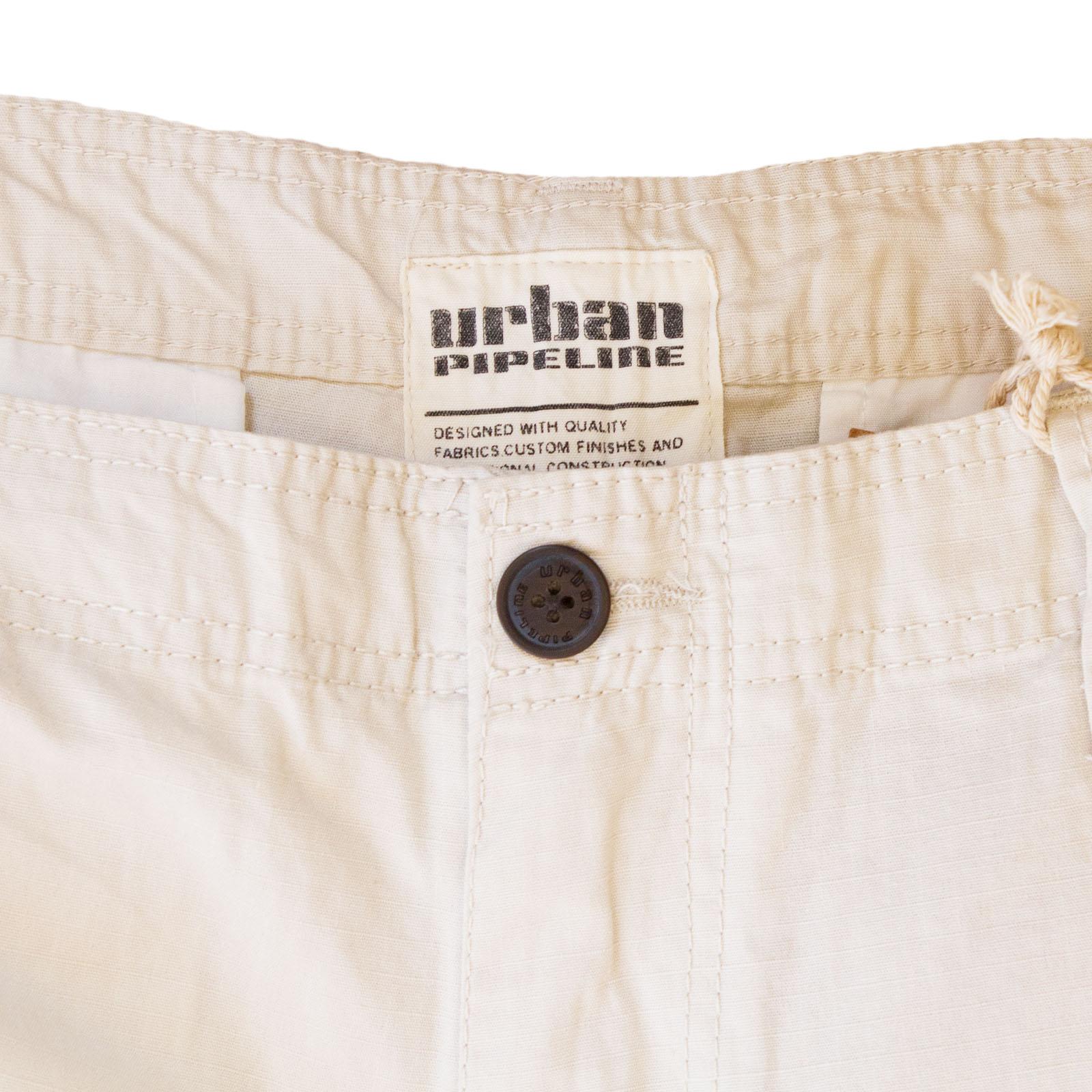Заказать белые мужские шорты Urban Pipeline большого размера