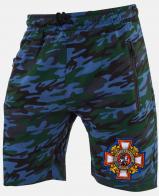 Купить шорты в стиле милитари с эмблемой Потомственный казак