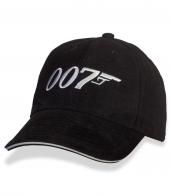 Шпионская бейсболка агента 007!