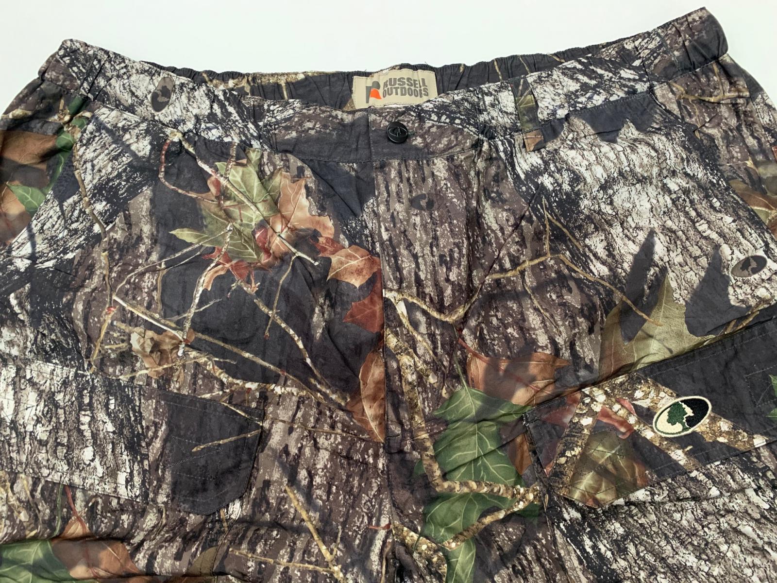 Штаны-шорты камуфляжные мужские Mossy Oak