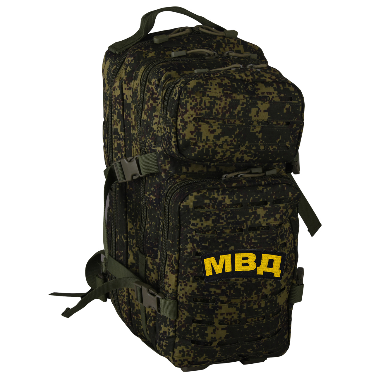 Штурмовой армейский рюкзак с нашивкой МВД - купить выгодно