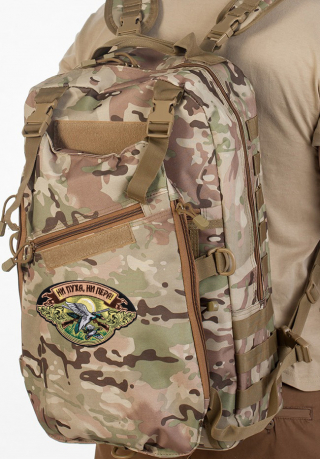 Охотничий камуфляжный рюкзак Ни Пуха ни Пера - купить онлайн
