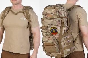 Штурмовой камуфляжный рюкзак с эмблемой РВСН - заказать с доставкой