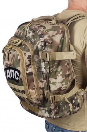 Штурмовой мужской рюкзак с нашивкой ДПС - купить выгодно