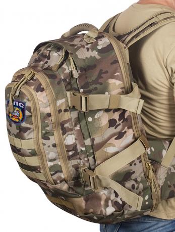 Штурмовой надежный рюкзак с нашивкой ДПС