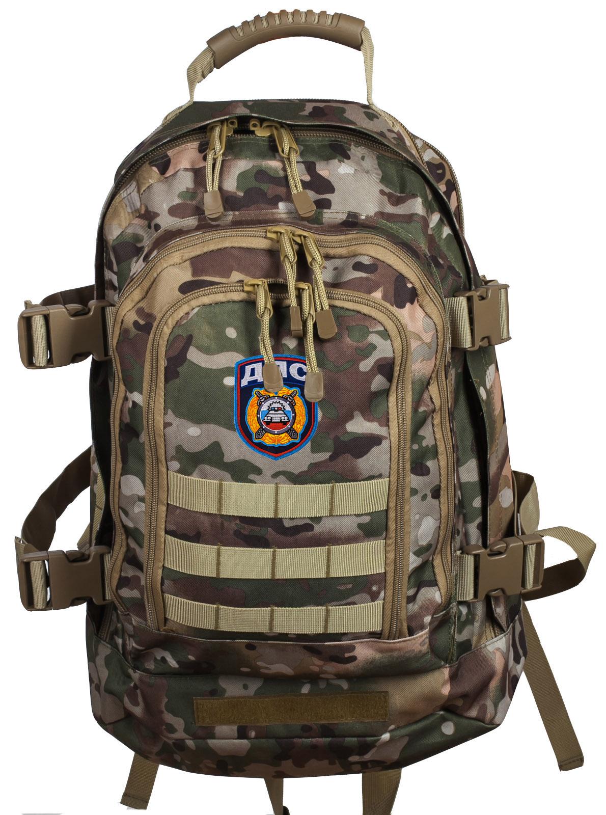 Штурмовой надежный рюкзак с нашивкой ДПС - заказать в розницу