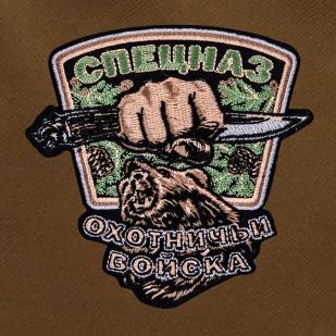Штурмовой надежный рюкзак с нашивкой Охотничий Спецназ