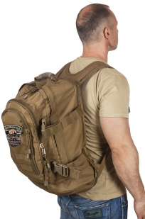 Штурмовой надежный рюкзак с нашивкой Охотничий Спецназ - заказать в Военпро