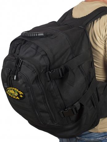 Штурмовой надежный рюкзак с нашивкой Танковые Войска