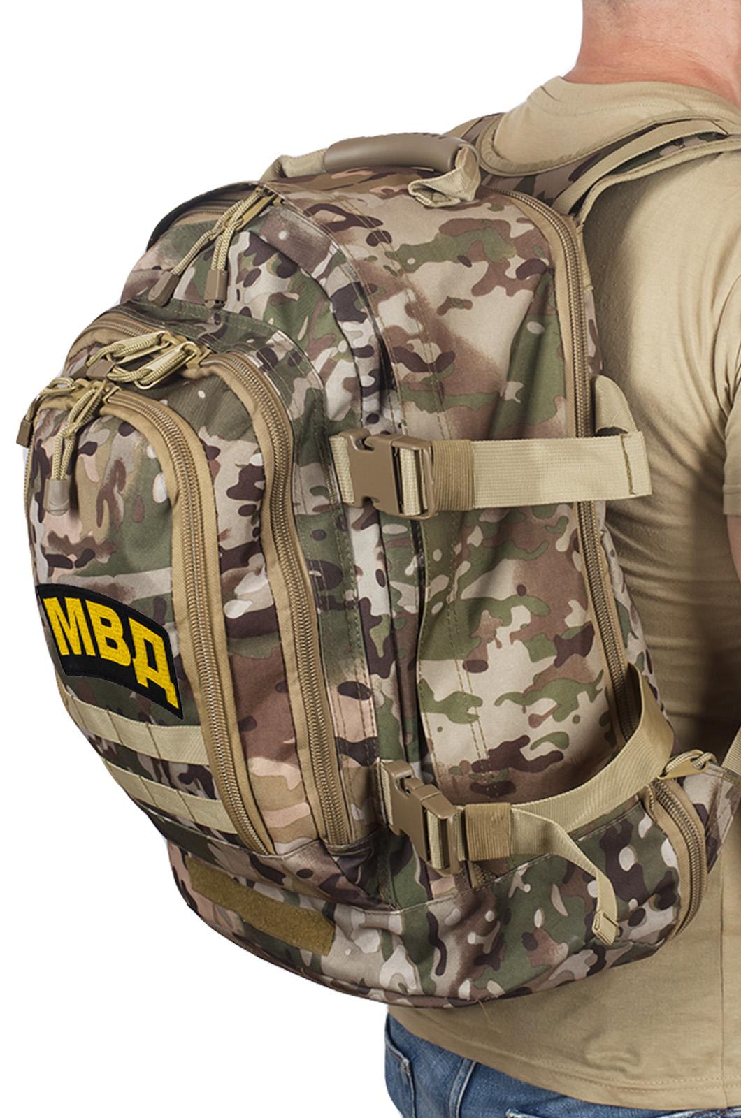 Штурмовой патрульный рюкзак с нашивкой МВД - купить выгодно