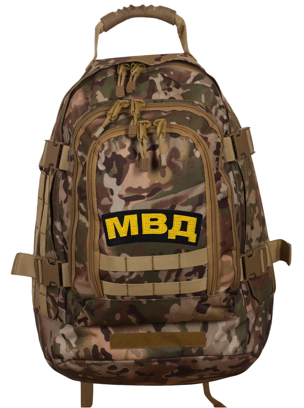 Штурмовой патрульный рюкзак с нашивкой МВД - заказать в розницу
