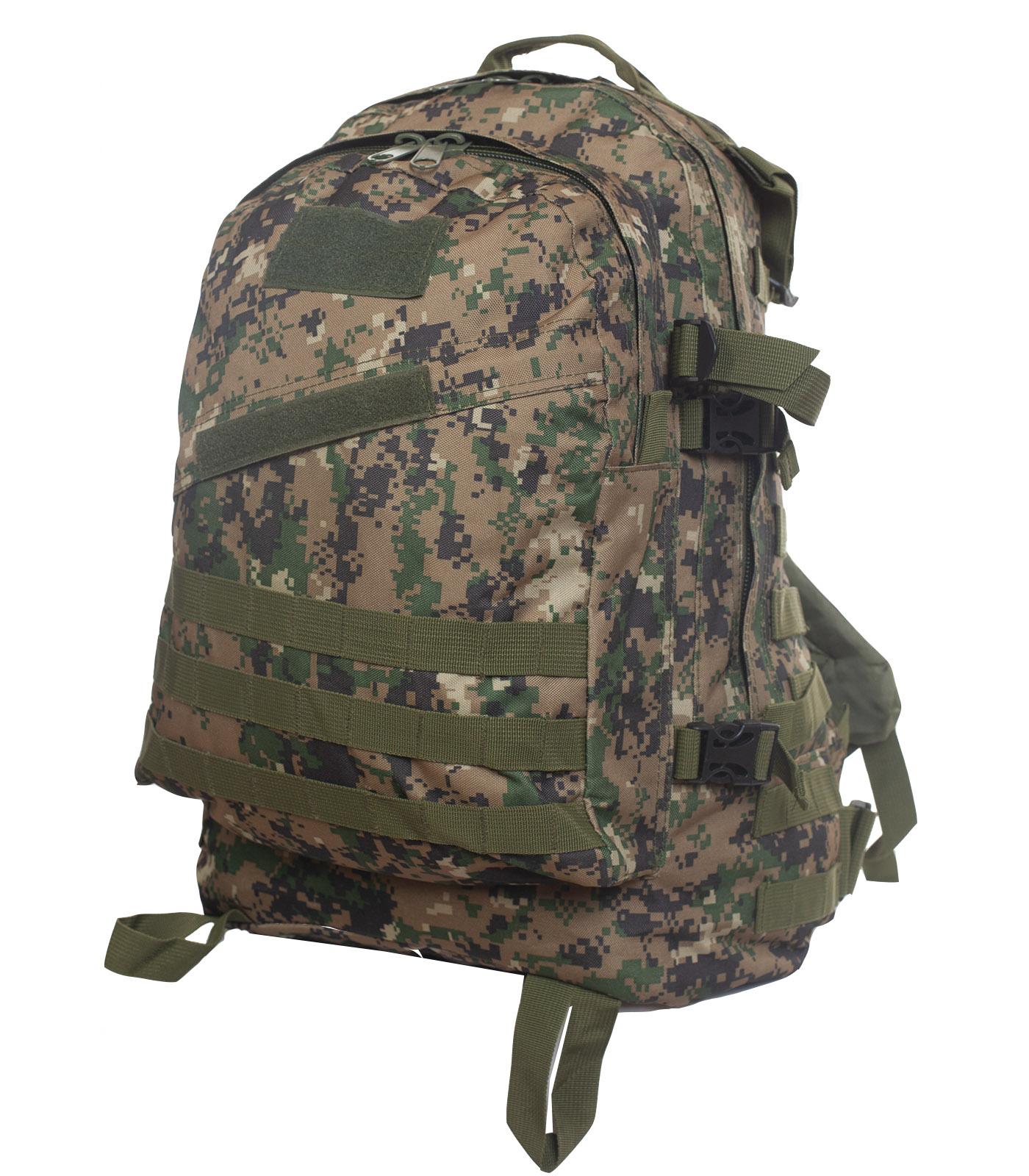 Штурмовой рюкзак камуфляжа Digital Woodland
