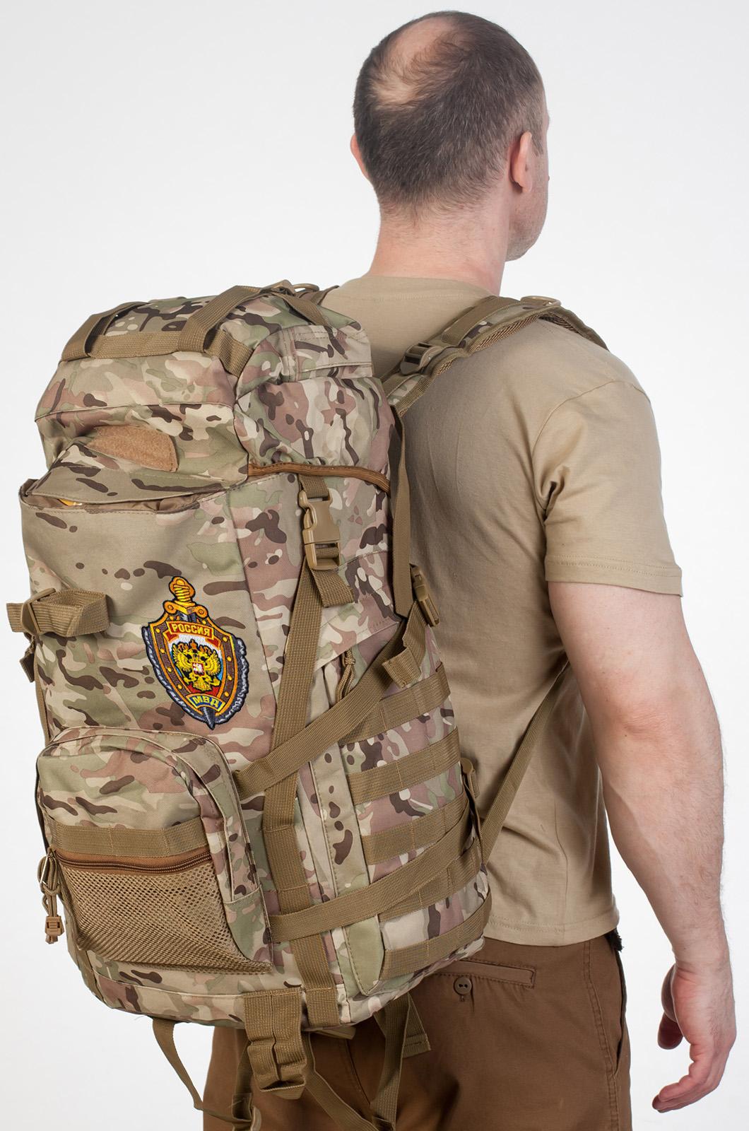 Штурмовой рюкзак морпеха с эмблемой МВД купить в Военпро