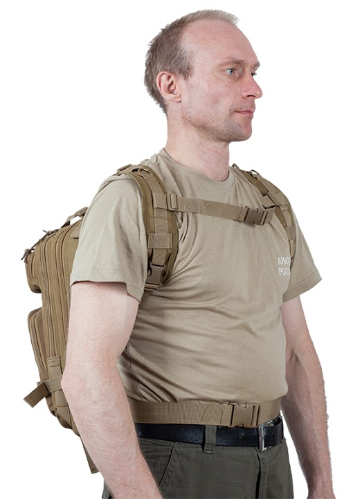 Штурмовой рюкзак США хаки-песок