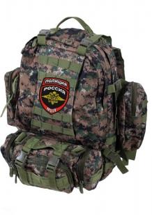 Штурмовой тактический рюкзак с нашивкой Полиция России - купить с доставкой