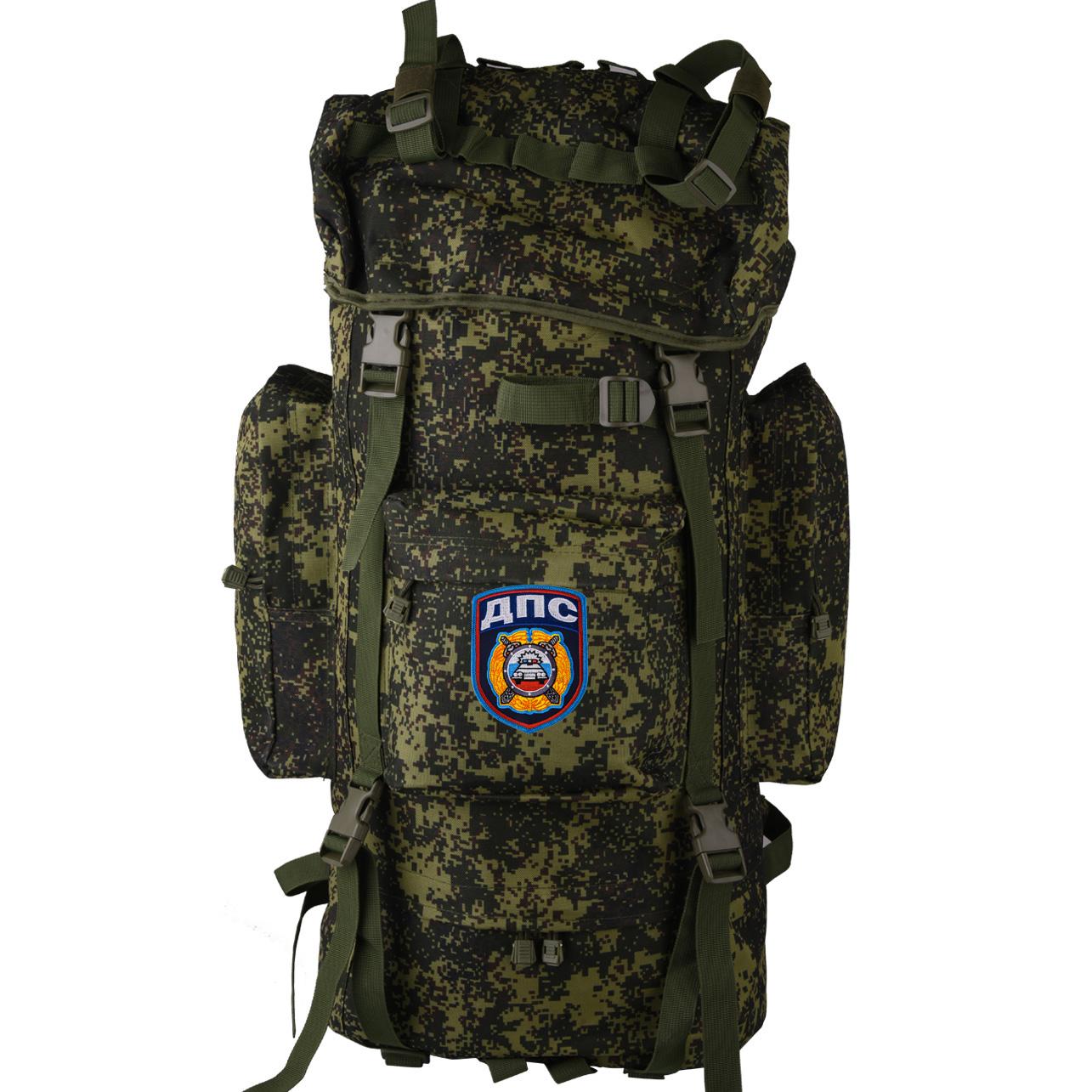 Штурмовой вместительный рюкзак с нашивкой ДПС - купить в розницу