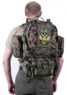 Штурмовой вместительный рюкзак с нашивкой Герб России