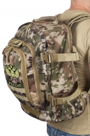 Штурмовой внушительный рюкзак с нашивкой Герб России