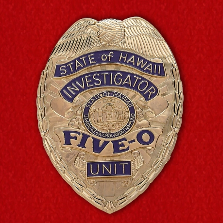 Badge investigator Hawaii